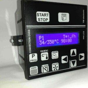 termoregulator PP5_LCD za pekarske duvaljke etažne roto parne peći